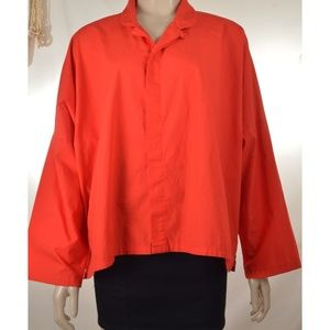 Planet Lauren G Tops - Planet Lauren Grossman red OSFA top shirt dropped